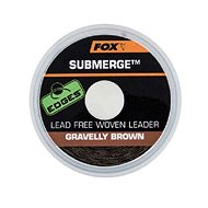 FOX Submerge Lead Free Leader 45lb 10m Gravelly Brown - Šňůra