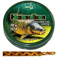 Katran Coated Braided Hook Link Hamelion 25lb 11,4kg 20m - Šňůra