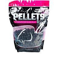 LK Baits Salt Black Hallibut Pellets 12mm 1kg - Pelety