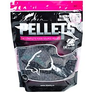 LK Baits Salt Black Hallibut Pellets 8mm 1kg