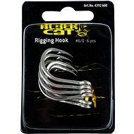 Black Cat Rigging Hook Velikost 6/0 6ks