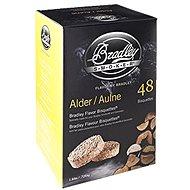 Bradley Smoker - Brikety Olše 48 kusů - Brikety