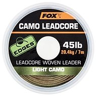 FOX Camo Leadcore 45lb 7m Light Camo - Olověná šňůra