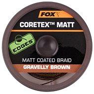 FOX - Šňůra Coretex Matt 9kg 20lb 20m Gravelly Brown
