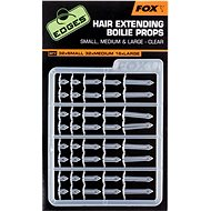 FOX Edges Hair Extending Boilie Props Clear S32+M32+L16ks - Zarážka