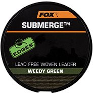 FOX Submerge Lead Free Leader 45lb 10m Weedy Green - Šňůra