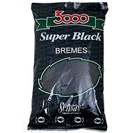 Sensas 3000 Super Black Bremes 1kg - Vnadící směs