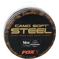 FOX - Vlasec Soft Steel 0,331mm 7,3kg 16lbs 1000m Dark Camo