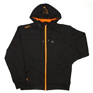 FOX Heavy Lined Hoodie Black/Orange - Mikina