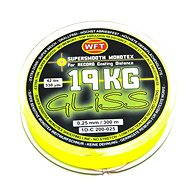 WFT - Šňůra GLISS 19KG 0,25mm 300m Žlutá - Šňůra