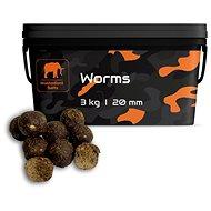 Mastodont Baits - Boilie Worms 20mm 3kg - Boilie