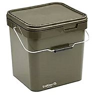 Trakker - Square Bucket Container 17l Green - Bucket