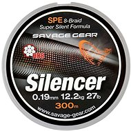 Savage Gear - HD8 Silencer Braid 0,12mm 13lbs 6,3kg 120m Zelená