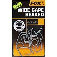 FOX Edges Armapoint Wide Gape Straight Velikost 8B Barbless 10ks - Háček