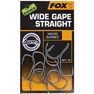 FOX Edges Armapoint Wide Gape Straight 10pcs - Fish Hook