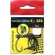 Extra Carp Teflon Hooks EX 222 Velikost 4 10ks - Háček