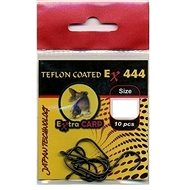 Extra Carp Teflon Hooks EX 444 Velikost 1 10ks - Háček