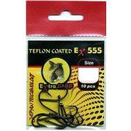 Extra Carp Teflon Hooks EX 555 Velikost 8 10ks - Háček