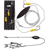 Black Cat Underwater Float Rig XXL Velikost 4/0 180cm - Návazec