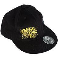 Black Cat Rapper Cap - Kšiltovka