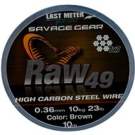 Savage Gear Raw49 0,36mm 11kg 24lb 10m Uncoated Brown - Lanko