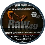 Savage Gear Raw49 0,54mm 23kg 50lb 10m Uncoated Brown - Lanko