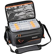 Savage Gear Taška System Box Bag XL 3 Boxes + Waterproof Cover - Taška