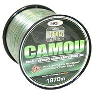 NGT Camou Line 0,25mm 4,5kg 1870m - Vlasec