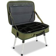 NGT Box Case Tackle Bag with Bivvy Table - Stolek