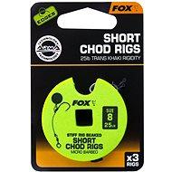FOX Short Chod Rigs Barbed Velikost 8 25lb 3ks - Návazec