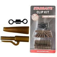 Starbaits Clip Kit Set Hnědá 10ks - Montáž
