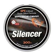 Savage Gear Šňůra HD8 Silencer Braid 0,12mm 13lbs 6,3kg 300m Zelená