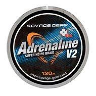 Savage Gear Šňůra HD4 Adrenaline V2 0,22mm 33lbs 15kg 120m Šedá - Šňůra