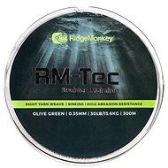 RidgeMonkey RM-Tec Braided Mainline 0,35mm 30lb 300m Zelená - Šňůra