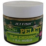 Jet Fish Boosterované pelety Legend GLM Enduro + Mušle 12mm 120g