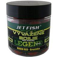 Jet Fish Vyvážené boilie Legend Robin Red + Brusinka 20mm 130g