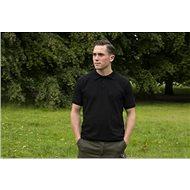 Tactic Carp Polo Shirt Black - Tričko