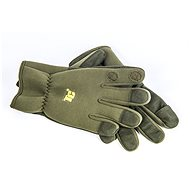 Tactic Carp Gloves Neoprene Green - Rukavice