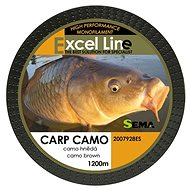 Sema Vlasec Carp Camo Brown 0,30mm 11,9kg 1200m - Vlasec