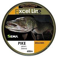 Sema Vlasec Pike 0,25mm 8,4kg 600m - Vlasec