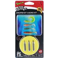 FOX Rage Dropshot Micro Kit 0,18mm 5,67lb 1m 5g Velikost 10 3ks - Návazec