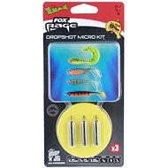 FOX Rage Dropshot Micro Kit 0,22mm 7,79lb 1m 7g Velikost 8 3ks