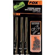 FOX Leadcore Leader + Kwik Change Kit Light Camo 3ks