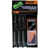 FOX Submerge 30lb Heli Rigs + Kwik Change Kit Green 3ks - Montáž