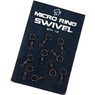 Nash Micro Ring Swivel 10ks - Obratlík