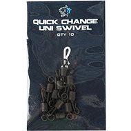 Nash Quick Change Uni Swivel 10ks - Obratlík