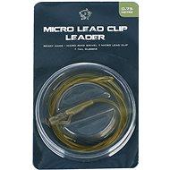 Nash Lead Clip Leader - Micro Ring Swivel, Micro Leadclip & Tail Rubber 0,75m
