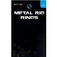 Nash Metal Rig Rings 2,0mm 20ks - Kroužek