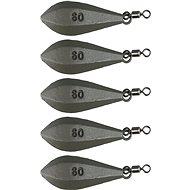 Suretti Olovo torpedo s očkem a obratlíkem 60g Barvené 5ks - Olovo