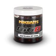 Mikbaits Legends Boilie v dipu BigB Broskev Black pepper 16mm 250ml - Boilies